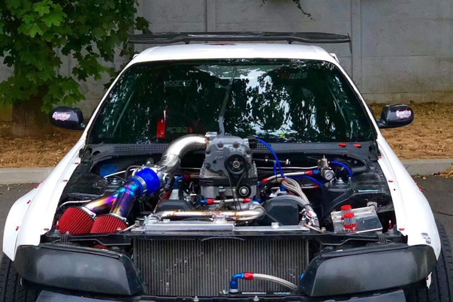 Nissan R33 with a Supercharged 1UZ V8