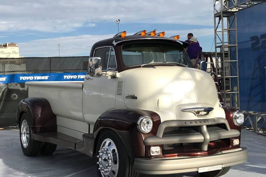 1954 Chevy 5700 COE with a 6.6 L Duramax V8