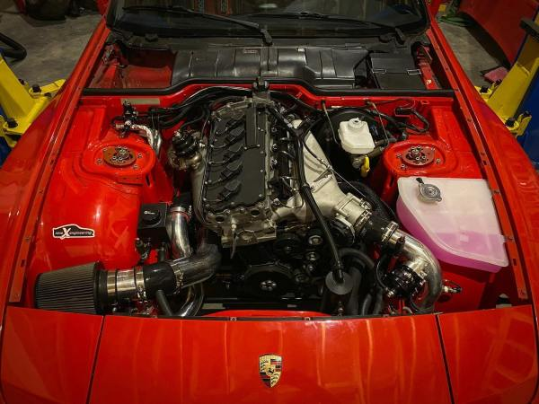 Porsche 944 with a Turbo VW Inline-Five