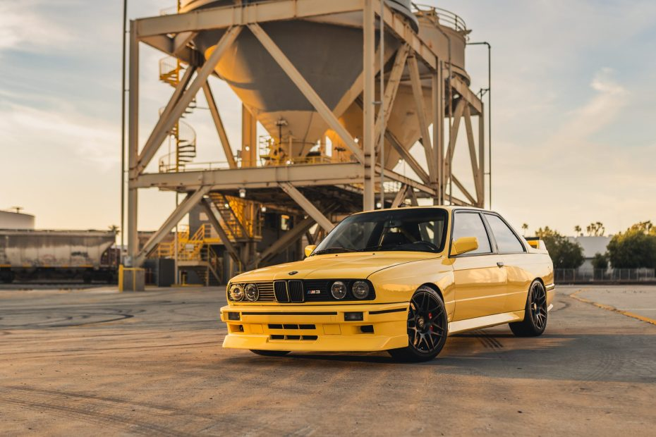 1989 BMW E30 M3 with a S50 Inline-Six