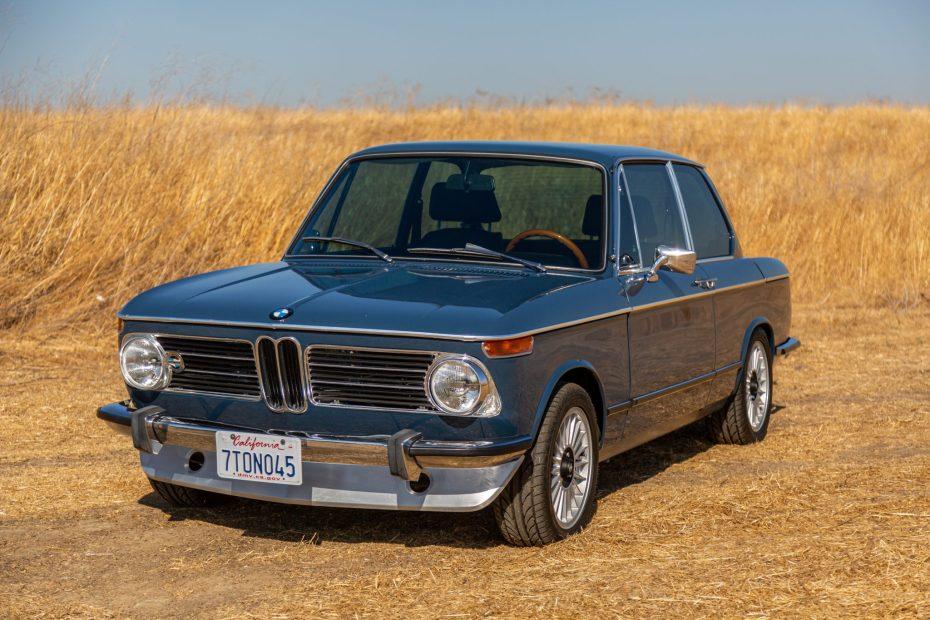 1973 BMW 2002 with a 1.8 L M42 Inline-Four