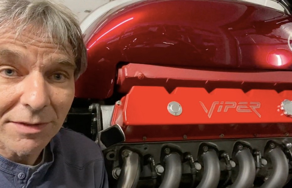 Allen Millyard's Viper V10 motorcycle