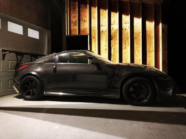 Nissan 350Z with a LS3 V8