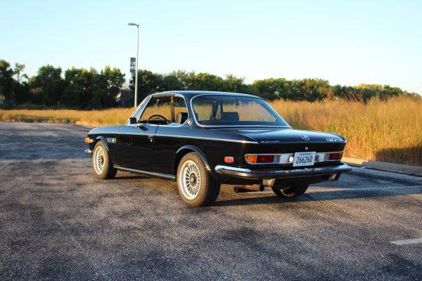 1973 BMW 3.0CS E9 with a M30B35 inline-six