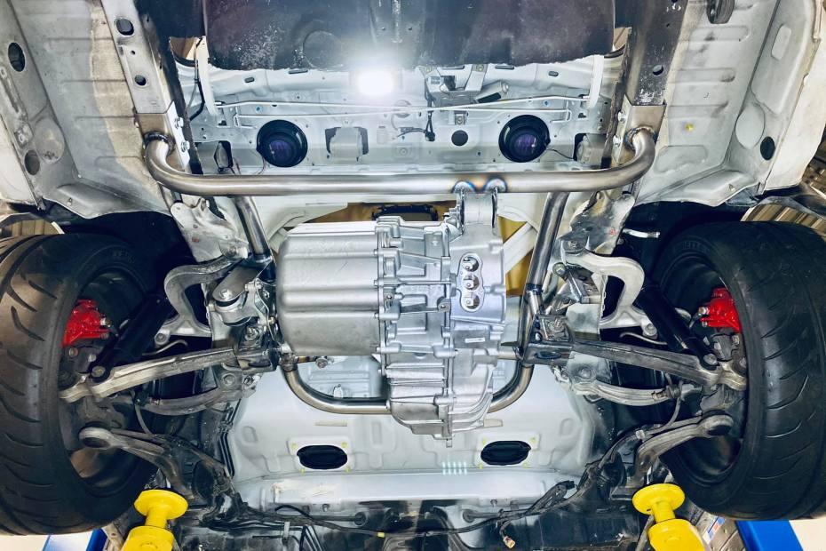 Mitsubishi Evo 8 with Tesla Motors