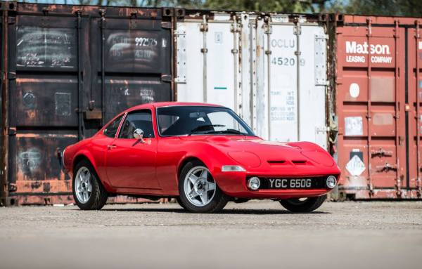 Opel GT with a C20XE Inline-Four