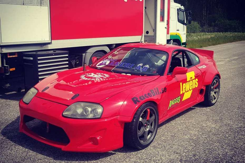 Toyota Supra with an Audi Turbo Inline-Five