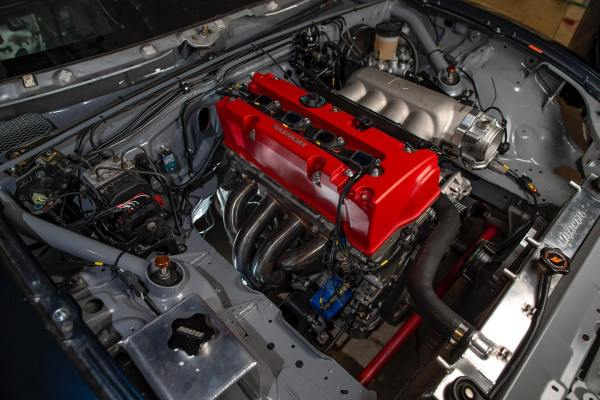 KPower Industries Subaru BRZ with a Honda K24 inline-four