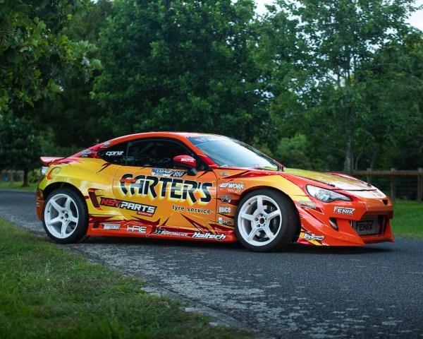 Team Jenkins Motorsport Toyota GT86 with a 2JZ-GTE inline-six