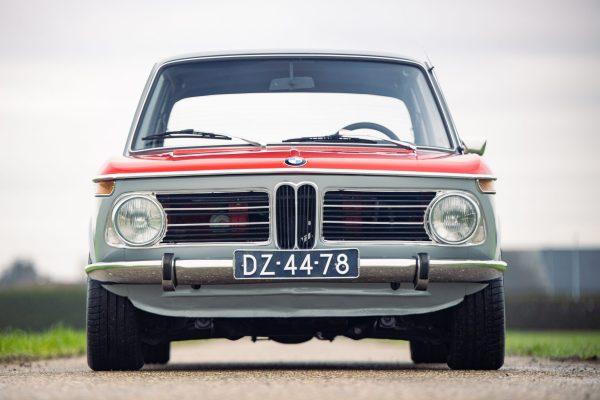 1972 BMW 2002 with a 2.3 L S14 Inline-Four