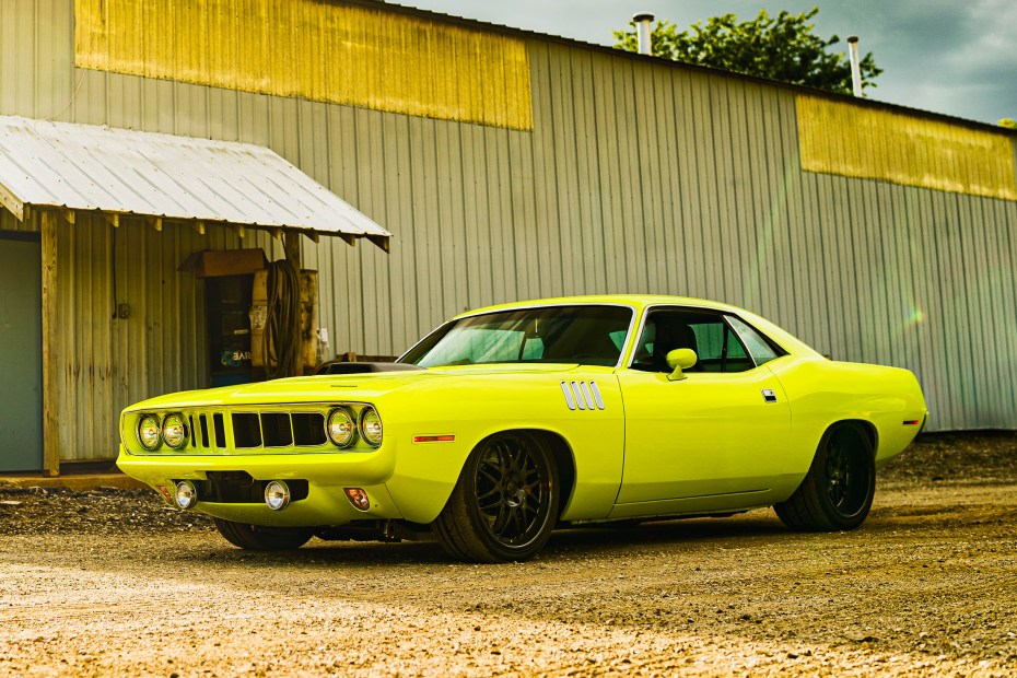 1971 Plymouth Barracuda with a Supercharged Hemi V8