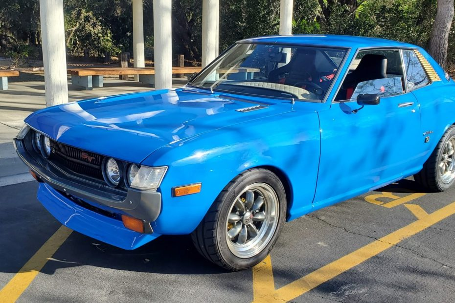 1974 Toyota Celica with a 3S-GE BEAMS inline-four