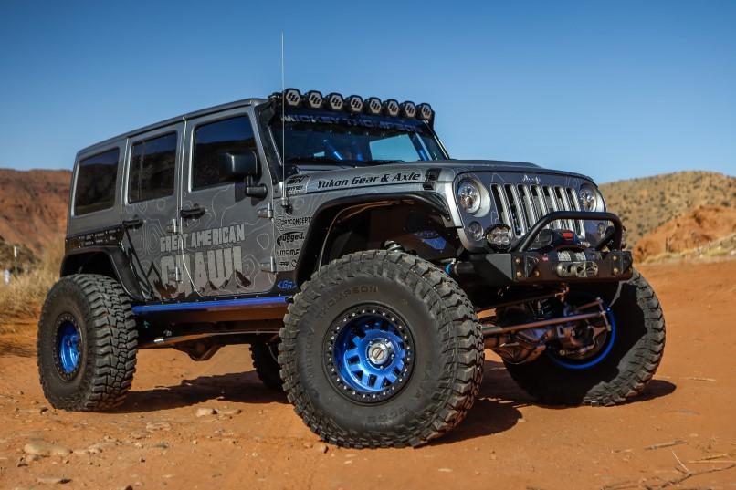 Jeep JK built by Rockstar Performance Garage with a LS3 V8