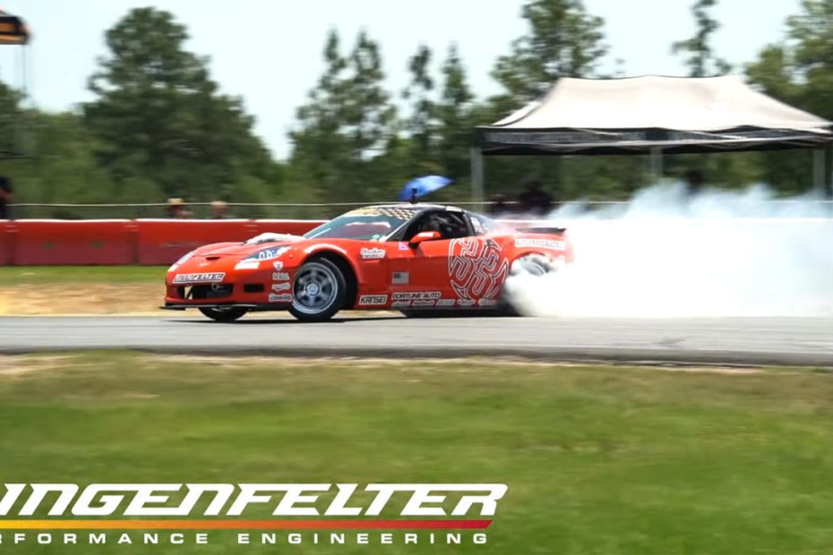 Dirk Stratton's Corvette with a Lingenfelter 454 ci LS7 V8