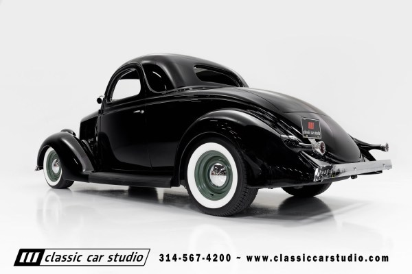 1936 Ford coupe with a Chevy 350 ci V8