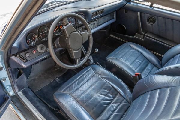 1982 Porsche 911 SC with a 3.6 L flat-six