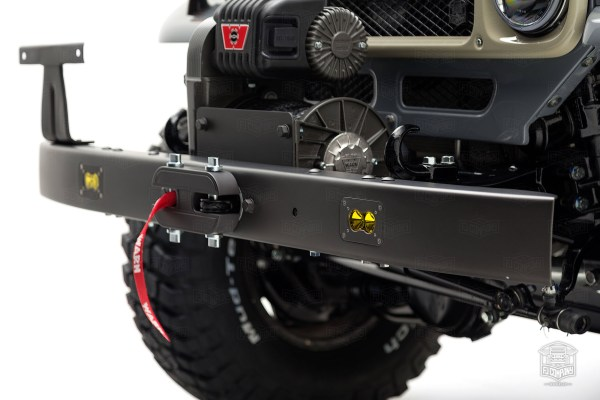 Toyota FJ43 Land Cruiser built by the FJ Company with a supercharged 1GR V6