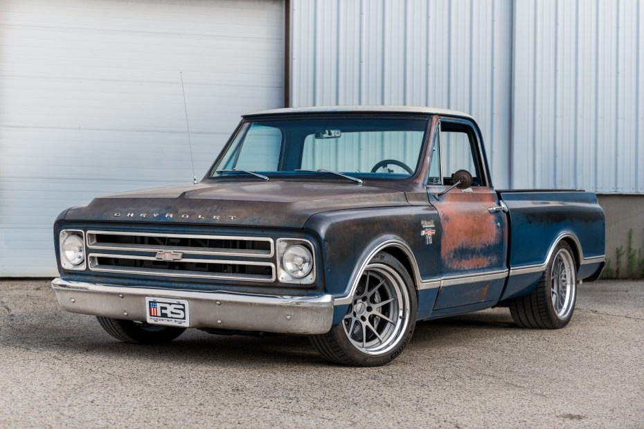 1967 Chevy C10 built by Roadster Shop with a supercharged LT5 V8
