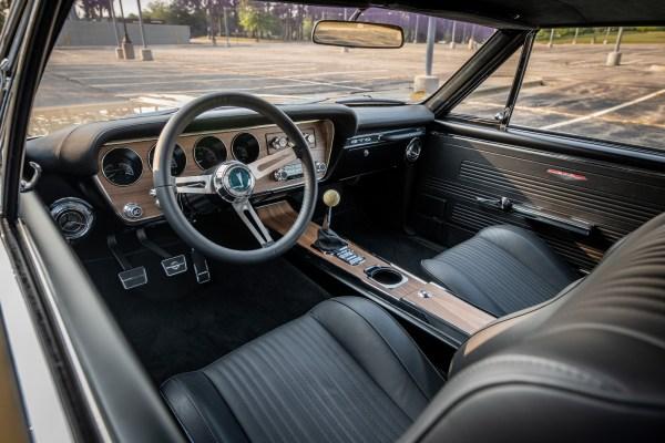 1967 Pontiac GTO built by Roadster Shop with a Mercury Racing SB4 V8
