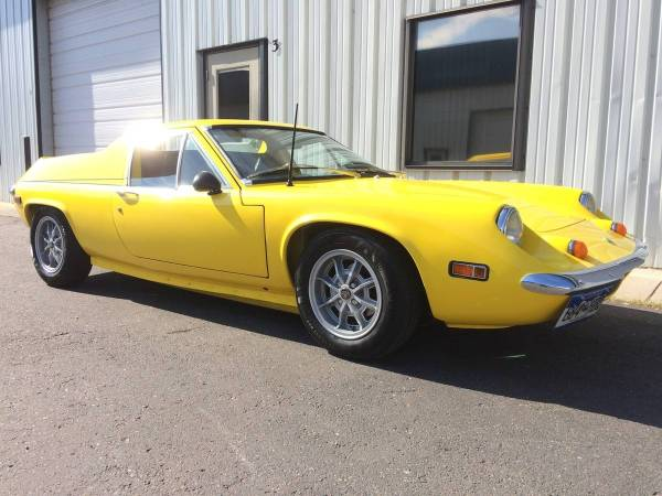 1972 Lotus Europa with a Toyota 4A-GE inline-four