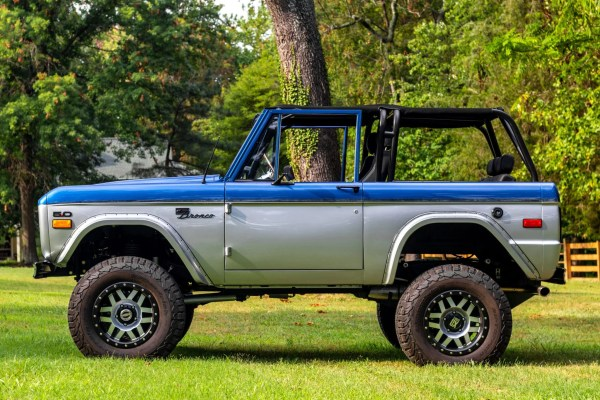 1973 Ford Bronco with a Coyote V8