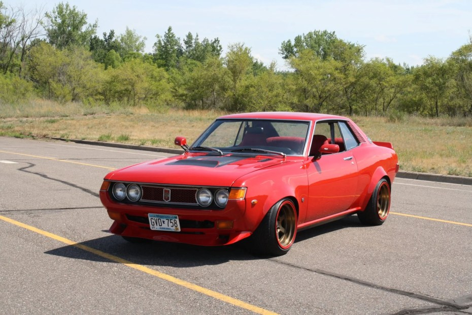 1974 Toyota Celica with a 13B two-rotor