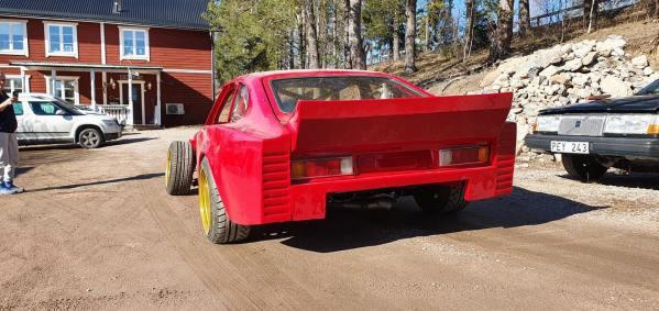 Emil Boogh's Ford Capri Zakspeed replica with a turbo Chevy V8