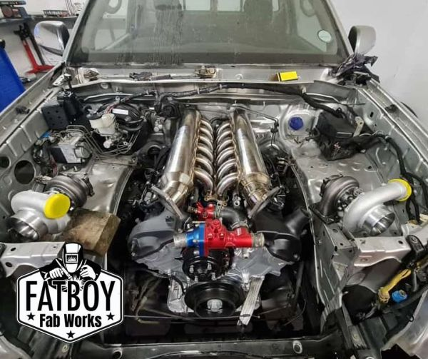 Toyota Hilux with a Twin-Turbo 1GZ V12