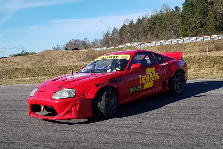 Averstedt Motorsport's Toyota Supra with a turbocharged Audi inline-five