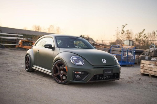 AWD Beetle built by HPA Motorsports with a turbo 3.2 L VR6