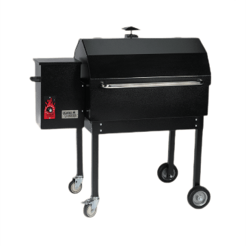 Black Smokin Brothers grill in model Traditional 30.