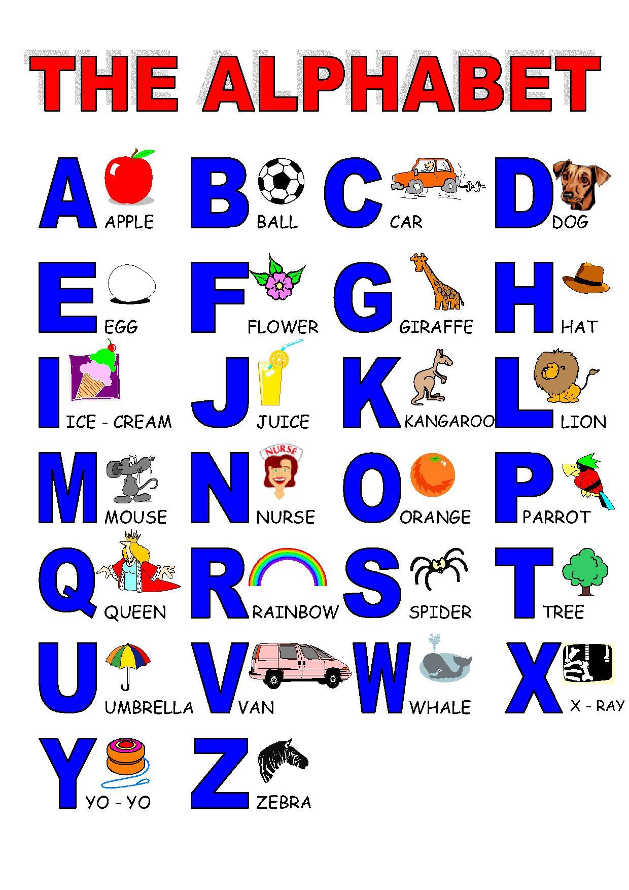 Arte Em Ensinar E Aprender Alfabeto Ingles Infantil