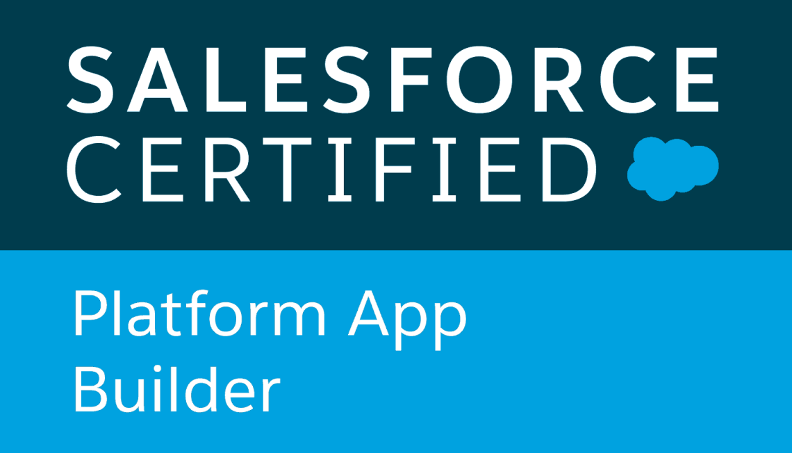 Salesforce Certified App Builders