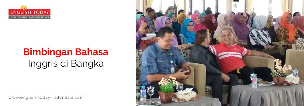 Bimbingan Bahasa Inggris Di Bangka English Today Indonesia
