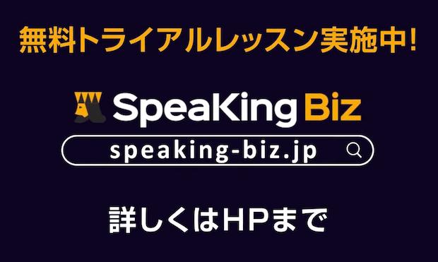 SpeaKing Bizについて徹底リサーチ【体験レビューあり】