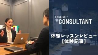 THE CONSULTANTで体験レッスン!徹底調査【口コミ・評判】