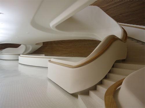 Bahrain National Theatre, main staircase (photo: Ati Metwaly)