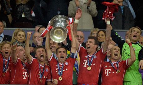 Znalezione obrazy dla zapytania bayern league victory
