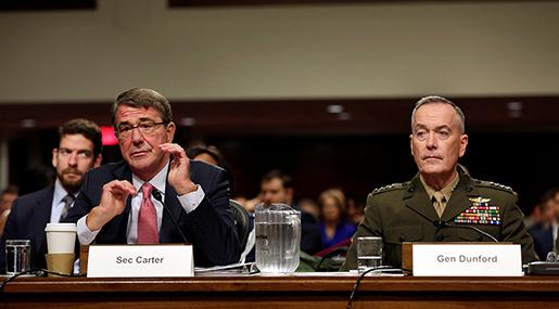 War Secretary Ash Carter and General Joseph Dunford