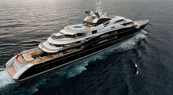 MBS luxury yacht