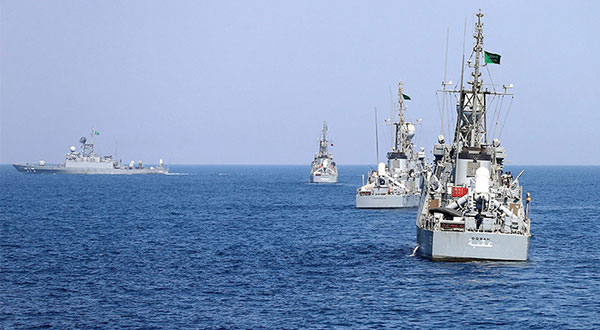 Saudi Warships