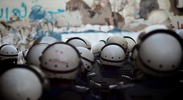 Bahrain riot police