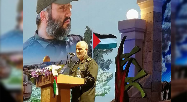 Commander of the Quds force of the Iranian Revolutionary Guards Core Major General Soleimani