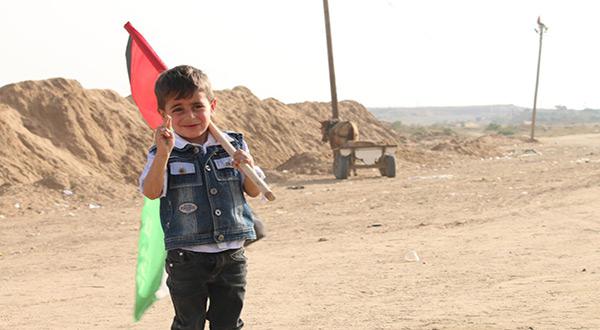Palestinian boy