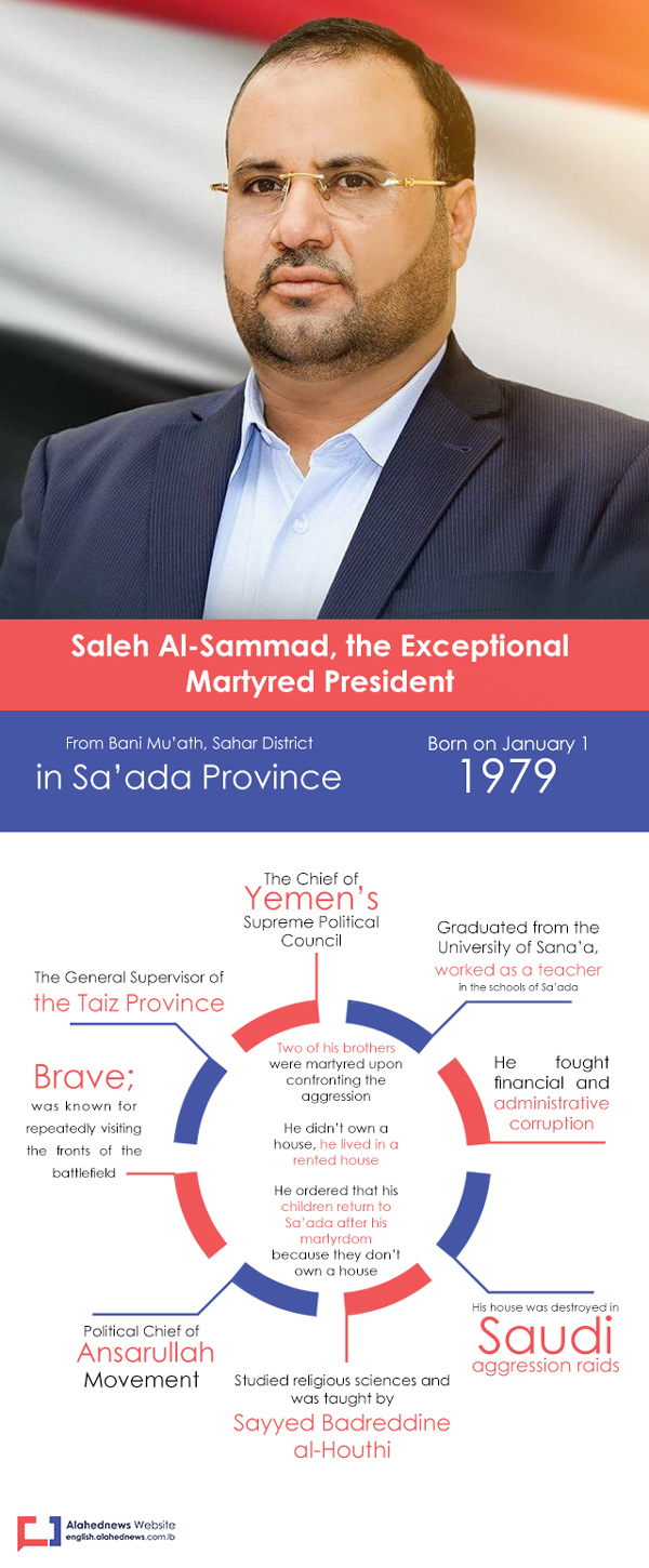 Yemen's Revolutionary, Leader, Martyr Saleh Al-Sammad