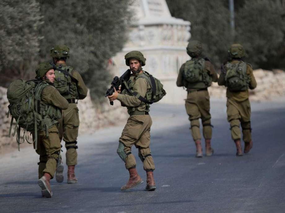 Israeli occupation soldiers