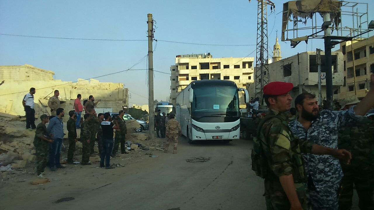 Daraya evacuation of militants