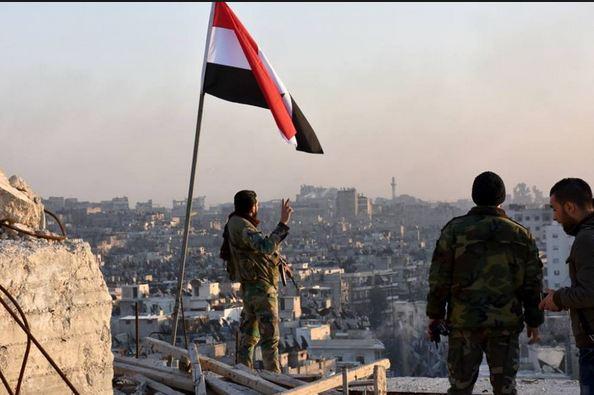 Syrian Army Liberating Eastern Aleppo