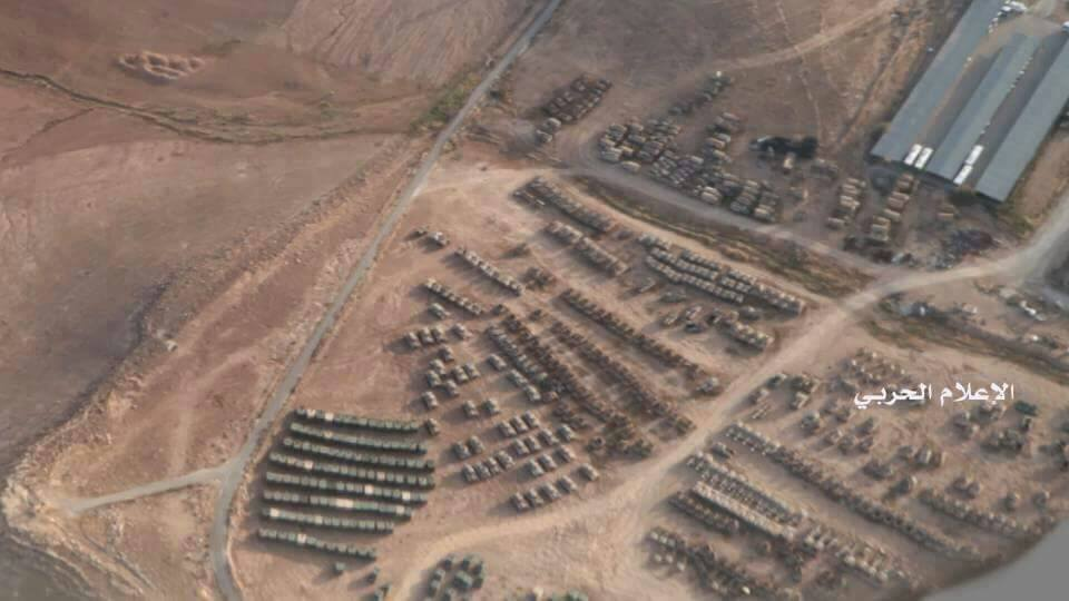 US Military Movements near southern border of Syria