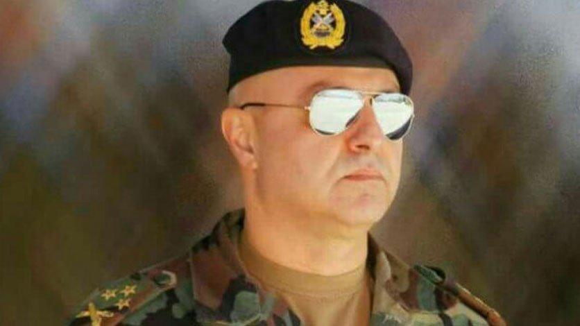 Lebanese Army Commander Joseph Aoun
